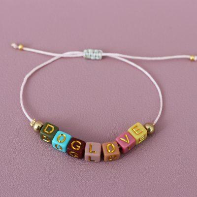 Armband Buchstaben